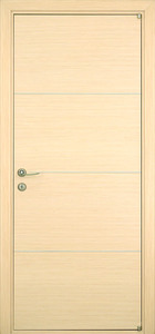 modern interior door Milano-1M1 White Oak