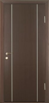contemporary interior door Milano-1M2 Wenge