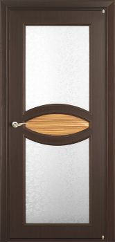 contemporary interior door Milano-130 Wenge