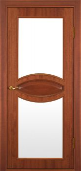 contemporary interior door Milano-132 Mahogany