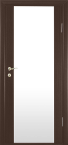 contemporary interior door Milano-300 Wenge