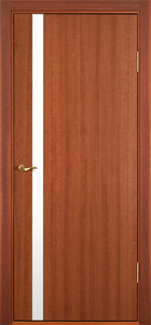contemporary interior door Milano-340 Mahogany