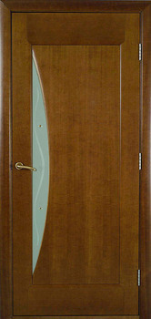 modern interior door Luna-G Cherry