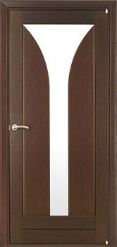 contemporary interior door Milano-260 Wenge