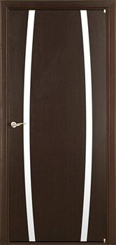 contemporary interior door Milano-343 Wenge
