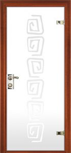 door Milano-400P6 Glass