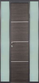 contemporary exterior door Milano-17 Sidelight