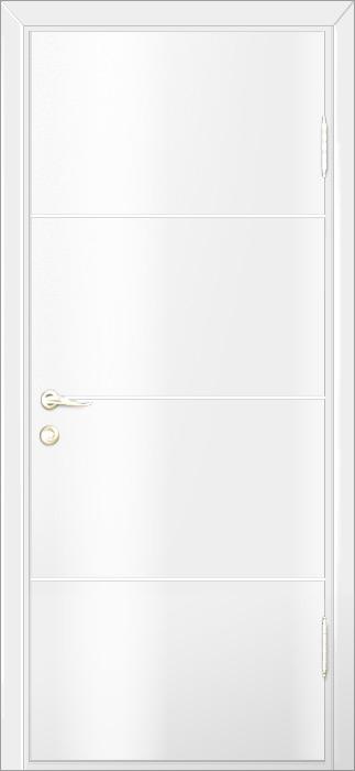Of modern interior doors by milano doors milano 1m1 white laminate