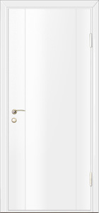 door Milano-1M2 White Laminate