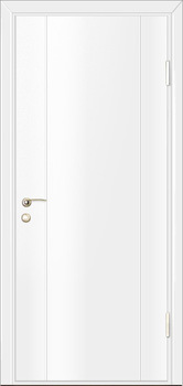contemporary interior door Milano-1M2 White Laminate