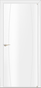 door Milano-1M6 White Laminate
