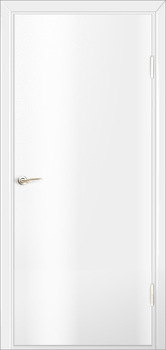contemporary interior door Milano-1V White Laminate
