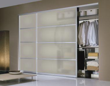 Milano Sl20 Buy Custom Size Sliding Closet Door At Best