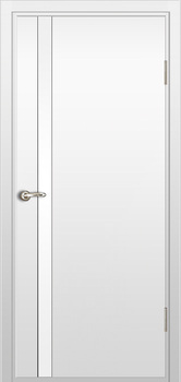 contemporary interior door Milano-340 White laminate