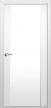 modern interior door Milano-300M1 White laminate