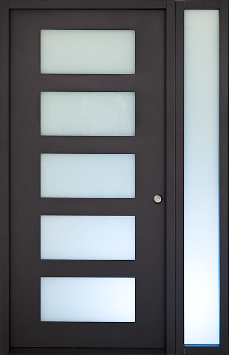 Gallery of modern exterior doors by milano doors milano for Modern exterior doors