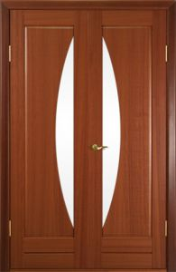Interior Door Milano-209DFO Mahogany. Photo