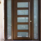 Exterior Door Milano-15 Silver. Photo
