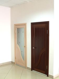 Interior Door Milano-281DF Wenge. Photo