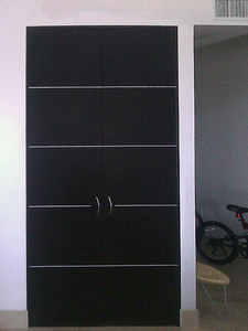 Interior Door Milano-1M1 Wenge. Photo