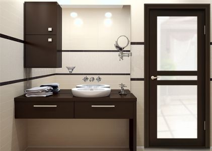 Interior Door Milano-250G Wenge. Photo