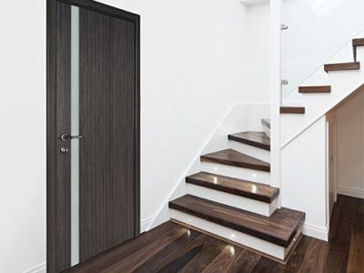 Interior Door Milano-340 Gray Oak. Photo
