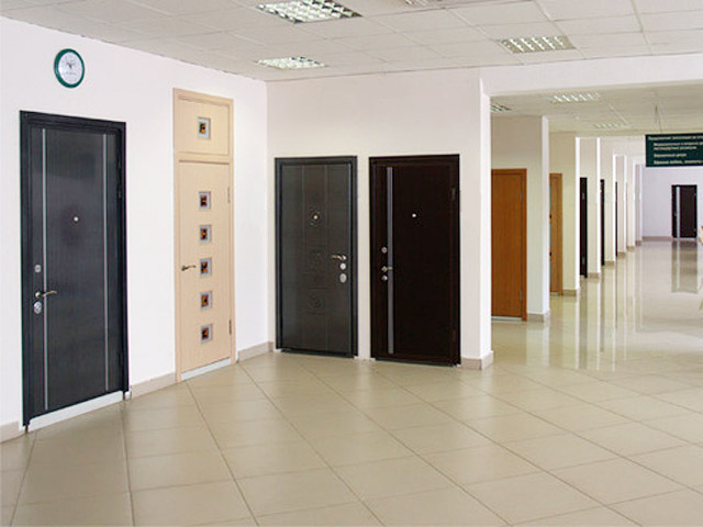 Our showroom & Interior doors and exterior doors contemporary wood doors modern ...