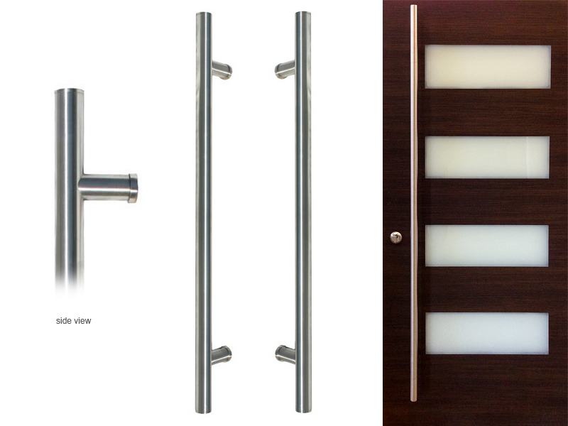 Hardware for modern interior doors by MilanoDoors