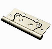 Stainless Steel Non Mortise Hinge 4 x 3 x 2.5