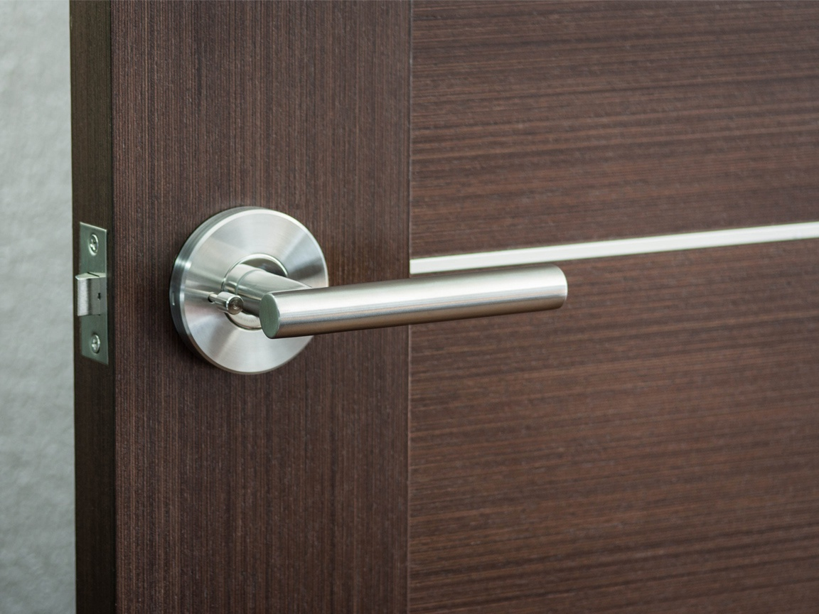Hardware for modern interior doors by milanodoors for Interior door hardware
