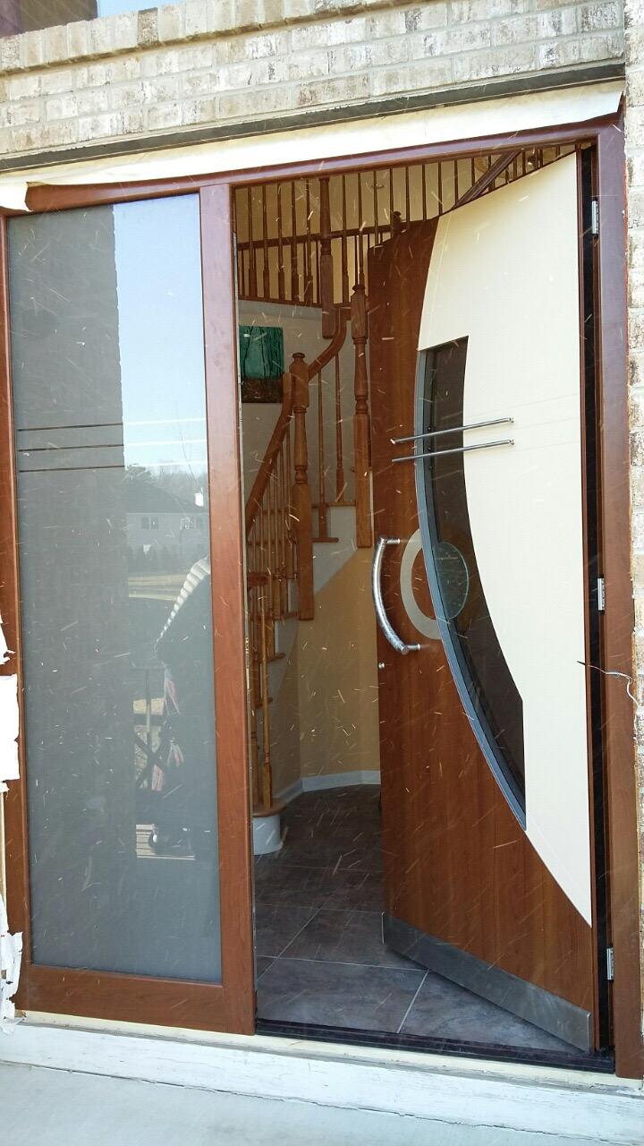 How To Install Exterior Doors Contemporary Wood Doors