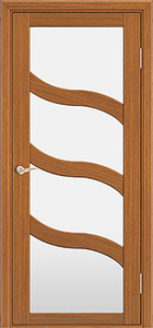 door Milano M-254 Walnut