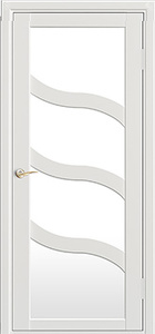 door Milano M-254 White Gloss