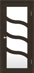 door Milano M-254 Eco-laminate wenge