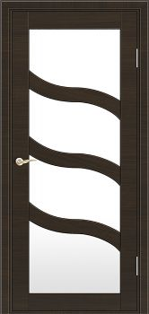 modern interior door Milano M-254 Eco-laminate wenge