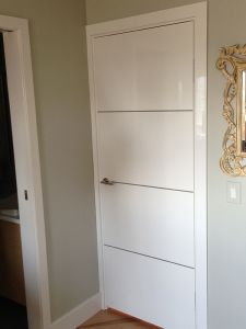 Interior Door Milano-1M1 White Laminate. Photo