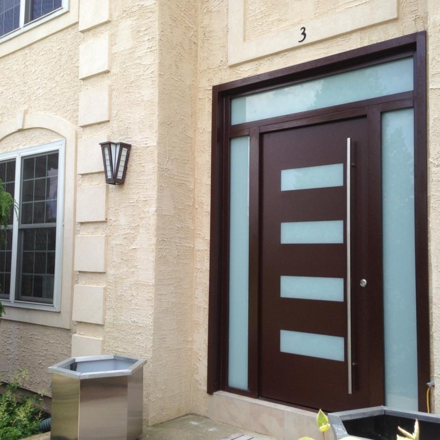 Exterior Door Milano-14 Combo. Photo & Gallery of modern exterior doors by Milano Doors. Milano-14 Combo