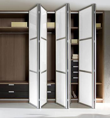 Modern Bi Fold Closet Door For The Home Pinterest