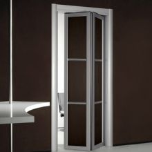 door BFD-08  Wenge  Single Bi-Fold Door