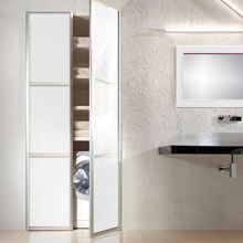 door BFD-13  White Obscure Glass Pivot Double Doors. (also available as Single Door)