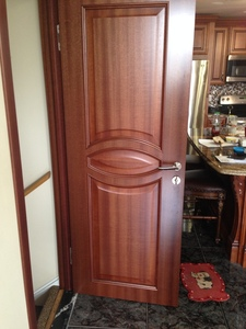 Interior Door Milano-133 Mahogany. Photo