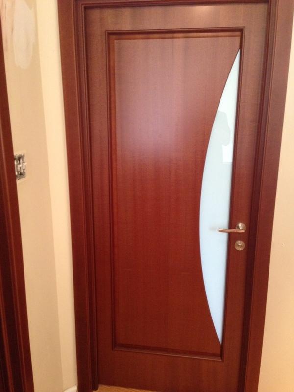 Amazing Interior Door Milano 109G Mahogany. Photo