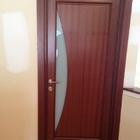 Interior Door Milano-109G Mahogany. Photo