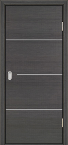 modern interior door Milano-1M5 Grey Oak