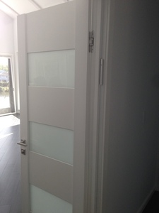 Interior Door Milano-275 White Laminate. Photo