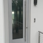 Exterior Door Milano-12 Silver. Photo