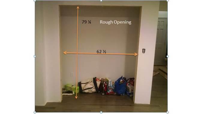 Closet Door Installation : How to install closet bi pass doors