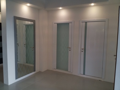 Interior Door Milano-300 White Laminate. Photo
