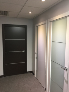 Interior Door Milano-300M1 White laminate. Photo