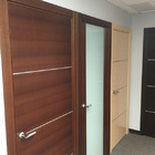 Interior Door Milano-1M1 Mahogany. Photo